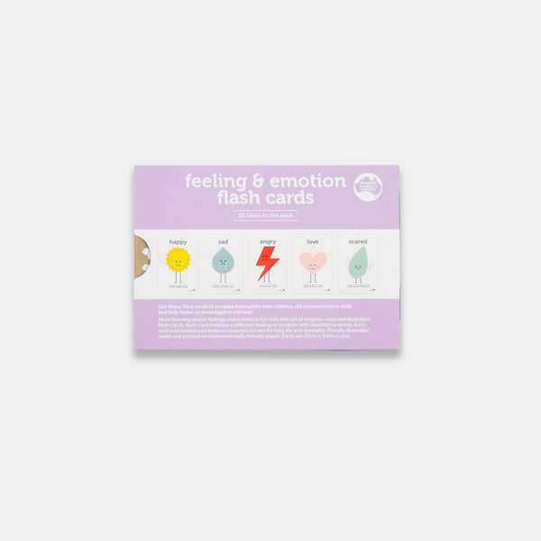 Feeling and Emotion Flash Cards in New Packaging