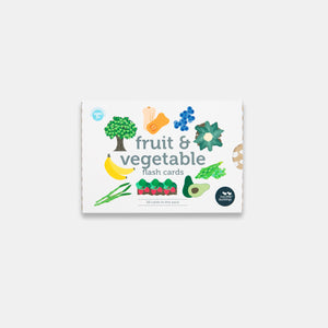 Fruit and Vegetable Flash Cards in New Packaging