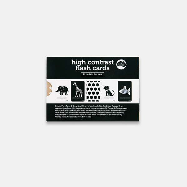 High Contrast Flash Cards in New Packaging