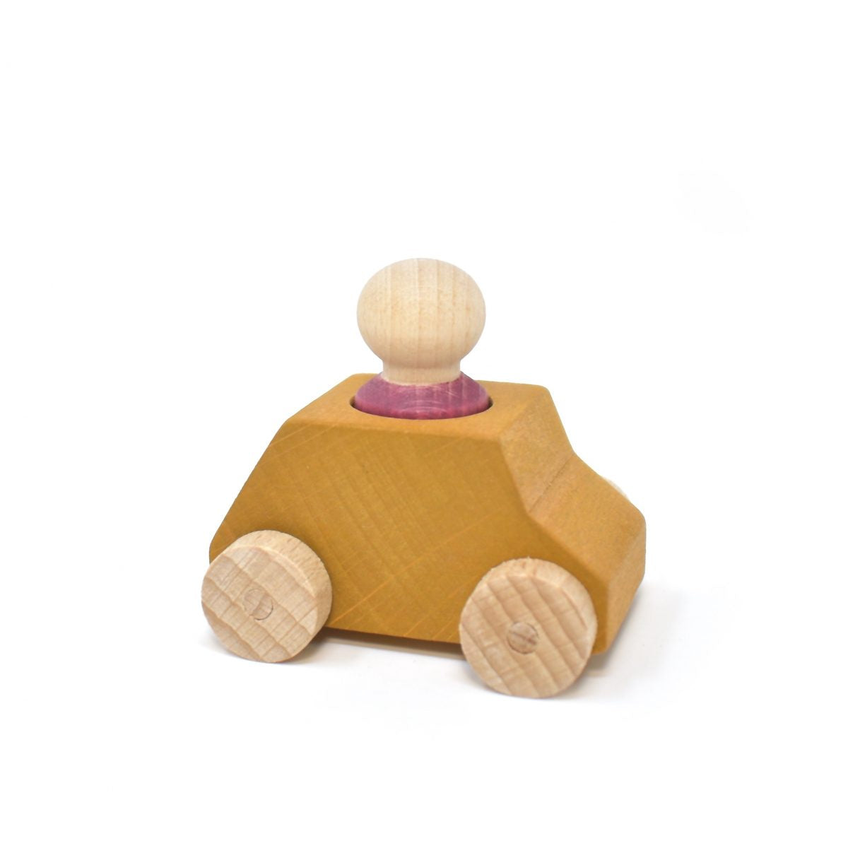 Car Ochre with Plum Figure