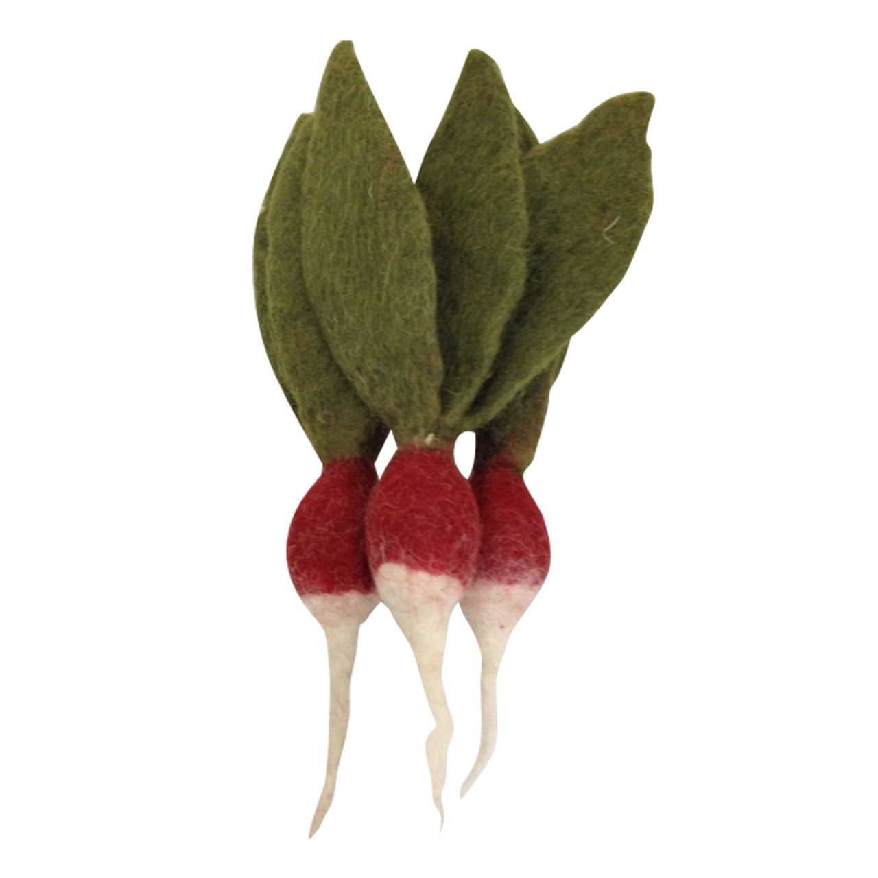 Mini Red Radish Set of 3
