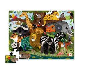 Classic Floor Puzzle 36 pc - Jungle Friends
