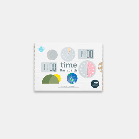 Time Flash Cards in New Packaging