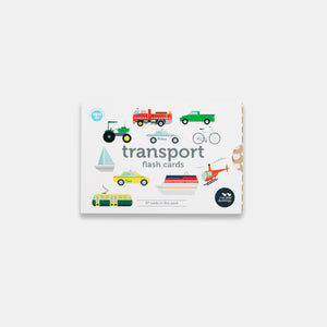 Transport Flash Cards in New Packaging