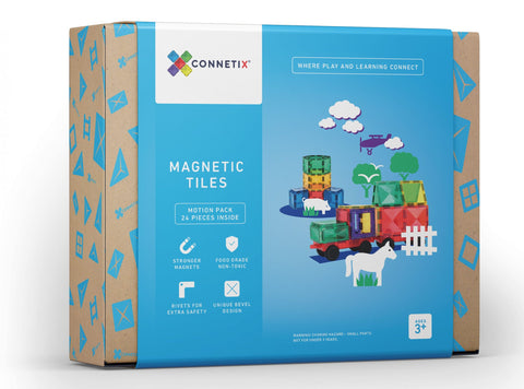 Connetix Tiles 24 Piece Car Pack