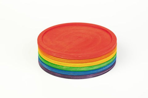 Coloured Dishes (set of 6)
