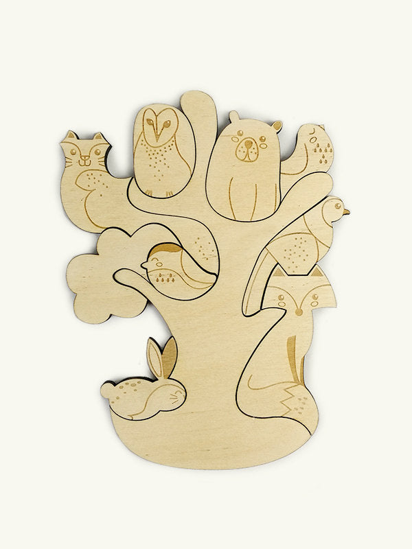 Forest Friends Magnetic Puzzle