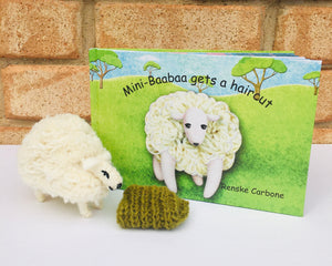 Mini-Baabaa Gets A Haircut Book & Toy Set