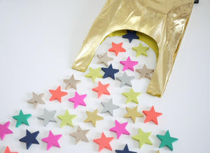 Tanabata Wooden Star Dominoes