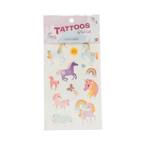 tiger tribe tattoos unicorn