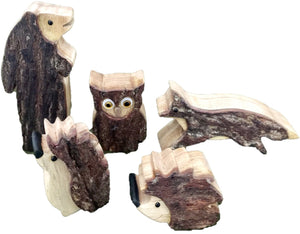 Small Woodland Animals Set of 5