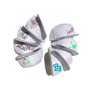 WHITE Snapbacks - RLP Designs
