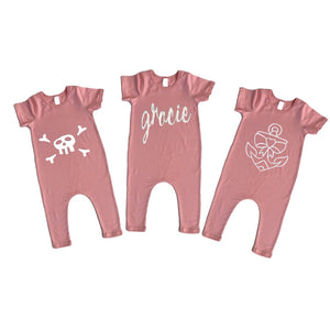 Rompers- Pink