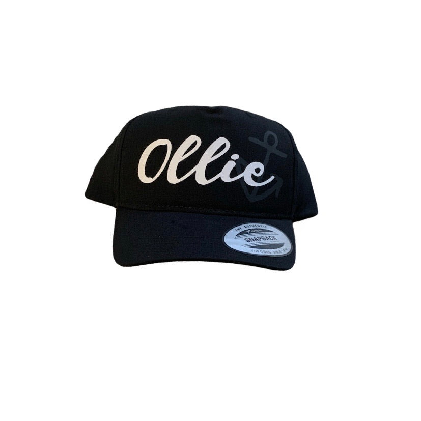 Curved brim Snapbacks - Personalised with Design