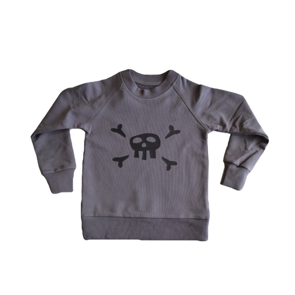 Rockin' Lil Pirates Crew- Charcoal