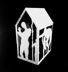 Sculpture-House of First Steps - DavidDelany.com