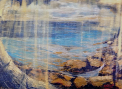 Original Painting-Travel Hawaii / Soft Landscape - DavidDelany.com