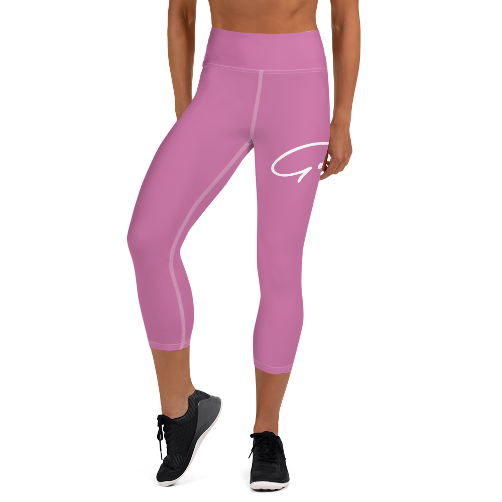 Signature Logo Yoga Capri Leggings - GODSON