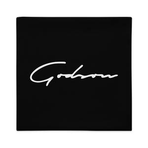 Signature Logo Premium Pillow Case - GODSON