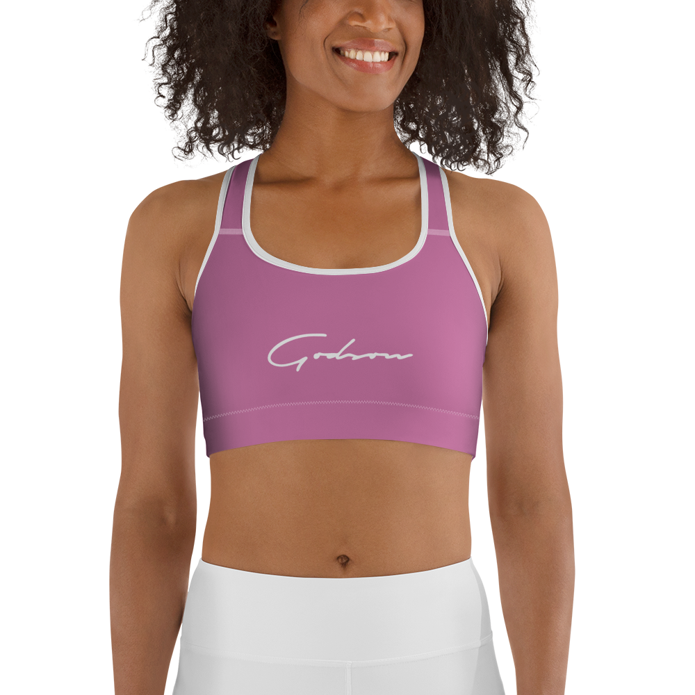 Signature Logo Sports bra - GODSON