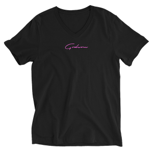 Women's Signature Logo V-Neck T-Shirt - GODSON
