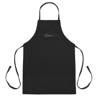 Signature Logo Embroidered Apron - GODSON