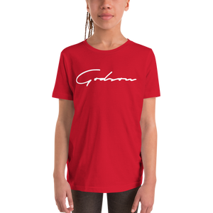 Signature Logo Unisex Youth Short Sleeve T-Shirt - GODSON