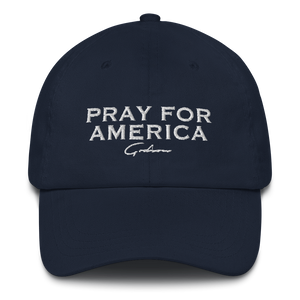 Pray for America Dad Hat - GODSON