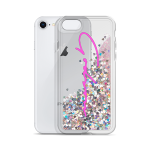 Signature Logo Liquid Glitter Phone Case - GODSON