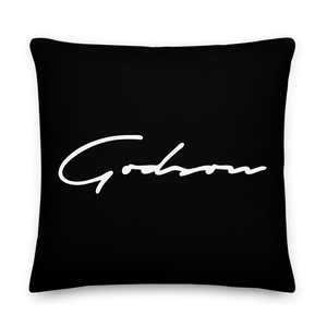 Signature Logo Premium Pillow - GODSON