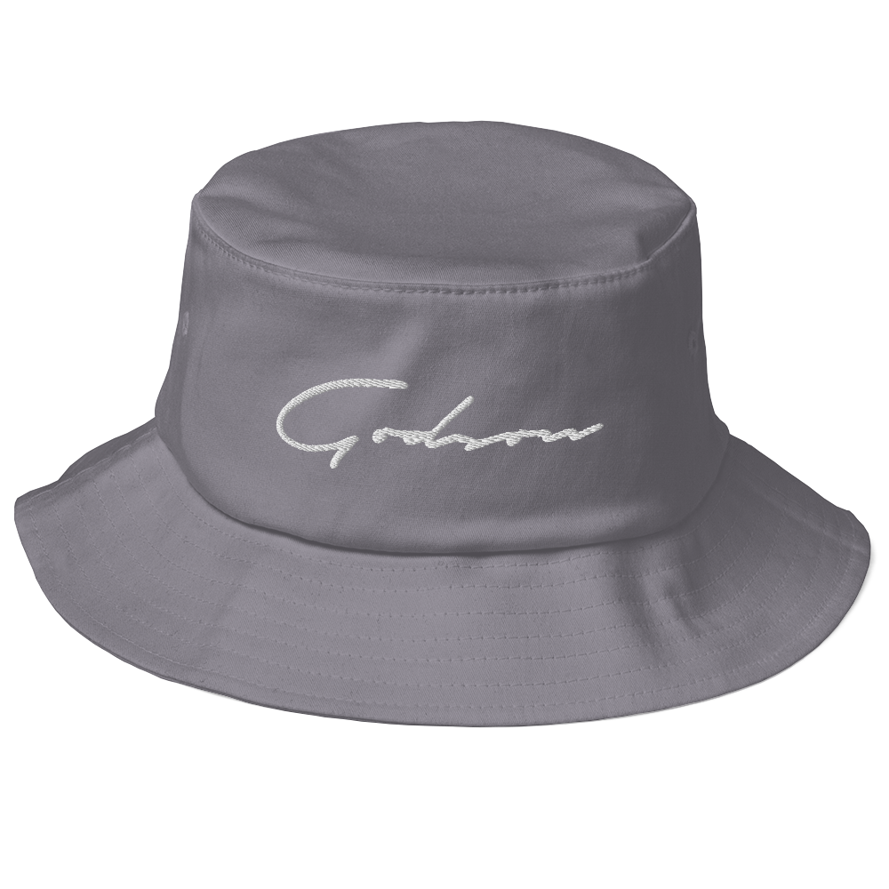 Signature Logo Old School Bucket Hat - GODSON