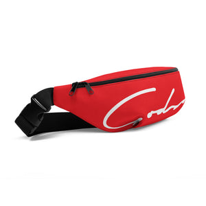 Red Signature Logo Fanny Pack - GODSON