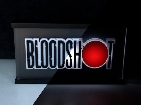 Bloodshot Night Light