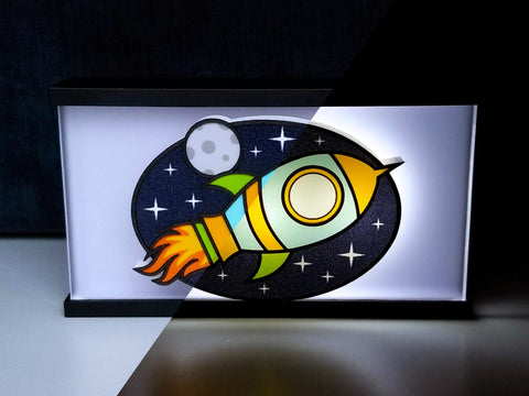 Spaceship Night Light