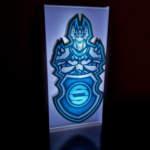 Custom Cutout Night Light