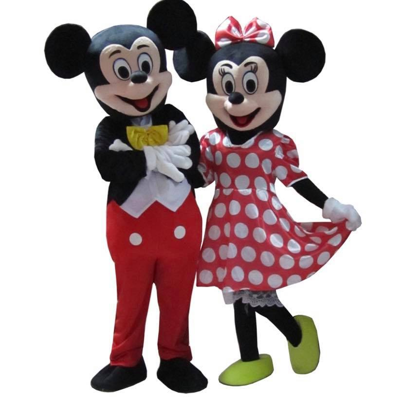 Mickey Mouse et Minnie Mouse
