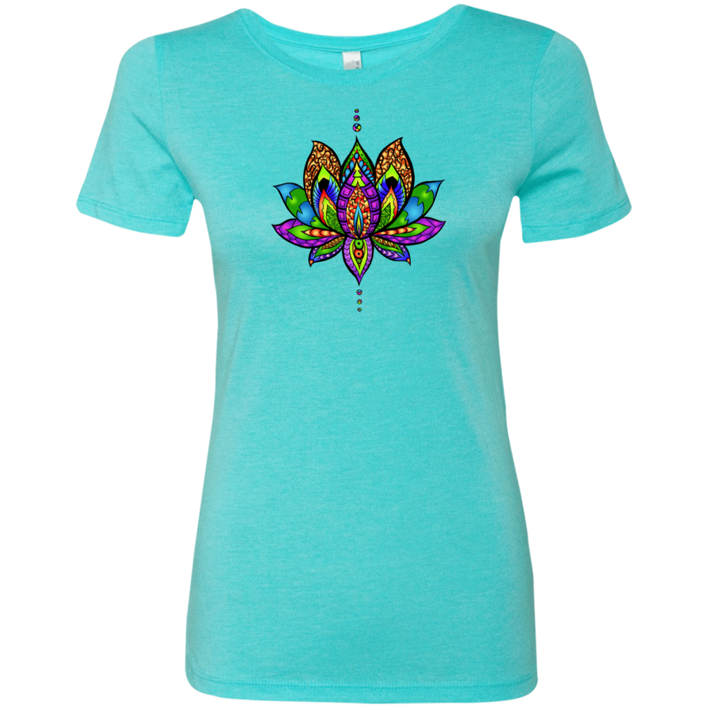 Yogi Lotus Next Level Ladies' Triblend T-Shirt