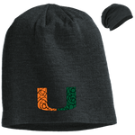 Abstract UM Slouch Beanie