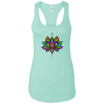 Yogi Lotus Ladies Ideal Racerback Tank