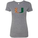 Canes Ladies' Triblend T-Shirt