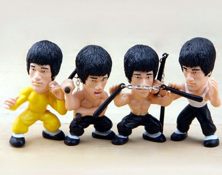 Bruce Lee - Kung Fu Master - Action Figure - Collectors Edition
