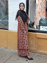 Zaynaba Box Print Chiffon Dress - ZIZI Boutique