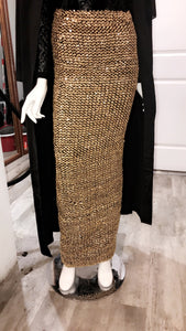 Sequin Evening Skirt - ZIZI Boutique