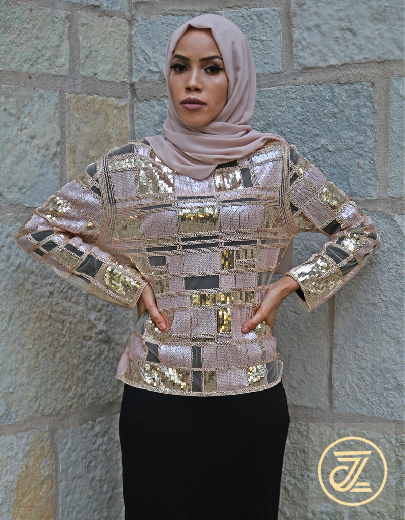 products/Pink_Gold_Shiny_Top_1.jpg