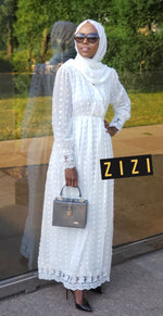 Chiffon Puff Dress - ZIZI Boutique