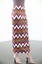 Suede Winter Print Skirt - ZIZI Boutique