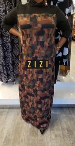 Habiibi Turtleneck Dress (Side Button) - ZIZI Boutique