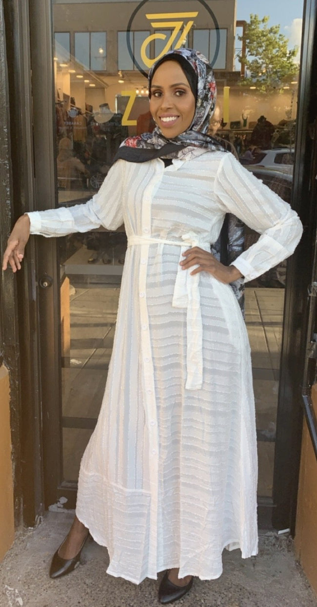 Chiffon Dress Shirt (Maxi) - ZIZI Boutique