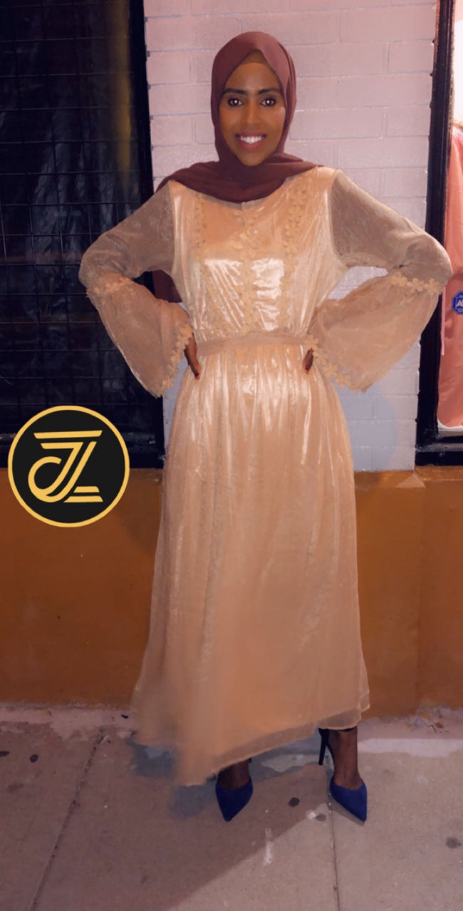 Victorian Chiffon Dress - ZIZI Boutique