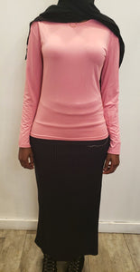 Plain Top - Baby Pink - ZIZI Boutique